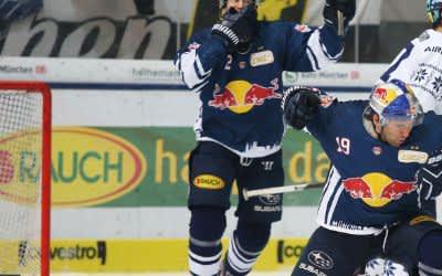 EHC Red Bull München gegen ERC Ingolstadt