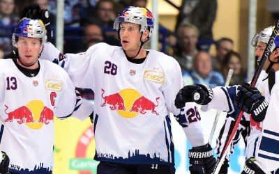 EHC Red Bull München auswärts gegen die Iserlohn Roosters