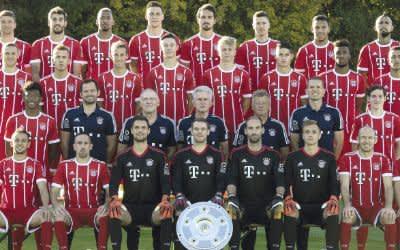 Kader des FC Bayern München 2017/18