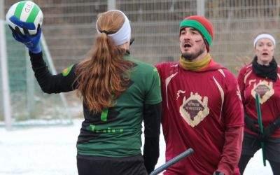 Impressionen von den Quidditch-Winterspielen in München.
