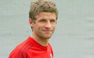 Thomas Müller vom FC Bayern München
