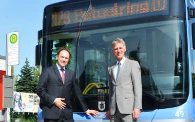 Neuer StadtBus 178 geht in Betrieb