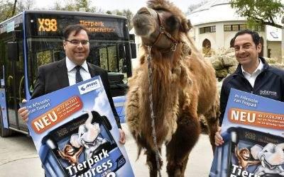 MVG-Chef Ingo Wortmann und Tierpark-Direktor Rasem Baban