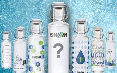 Wettbewerb zur Trinkflasche bei den SWM
