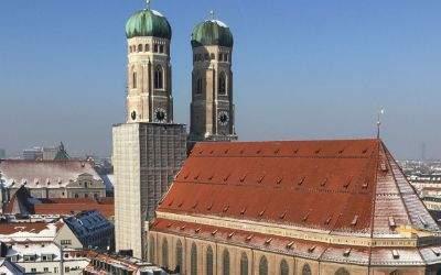 Winter in München, Frauenkirche