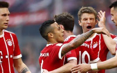 FC Bayern gewinnt gegen Borussia Mönchengladbach mit 5:1