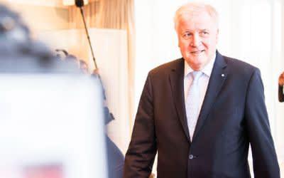 Horst Seehofer bei seiner letzten Kabinetts-Sitzung als Ministerpräsident
