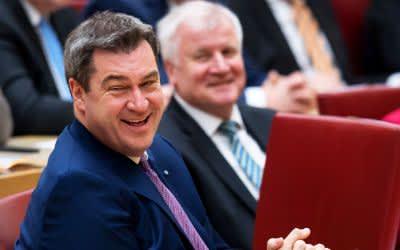 Markus Söder zum Ministerpräsidenten Bayerns gewählt