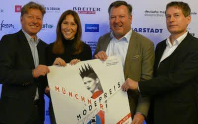 Impressionen von der PK zum Münchner Modepreis 2018