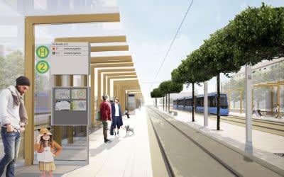 Umgestaltung Romanplatz - Simulation