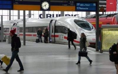 GDL-Streik am Hauptbahnhof am 7.11.2014