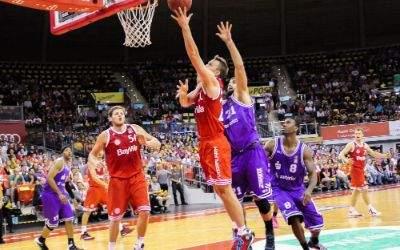 Spielszene FC Bayern Basketball