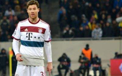 Xabi Alonso vom FC Bayern München