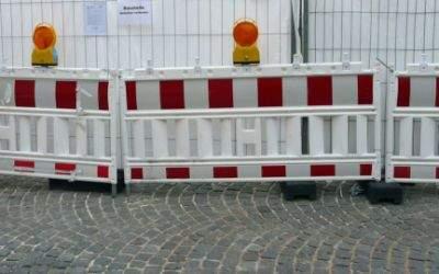 Baustelle in München
