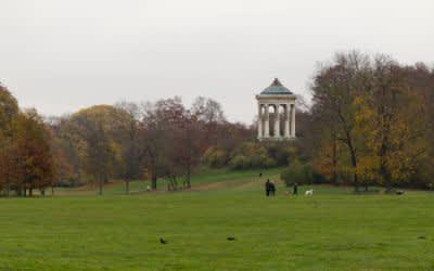 Wetter wolkig Englischer Garten
