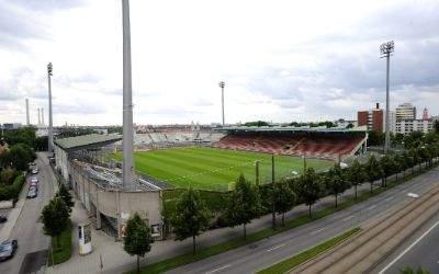 """Städtisches Stadion an der Grünwalder Straße - das """"Sechzger Stadion"""""""