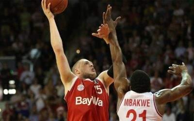 FC Bayern Basketball gegen Bamberg