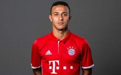 Thiago Alcantara beim FC Bayern in der Saison 2016/17