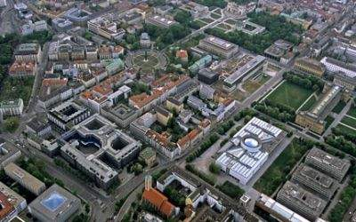 Kunstareal München Panorama