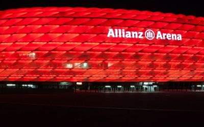 Die Münchner Allianz Arena.