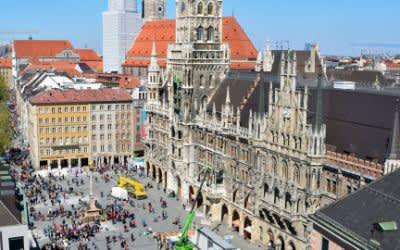 Webcam-Ansicht des Marienplatzes