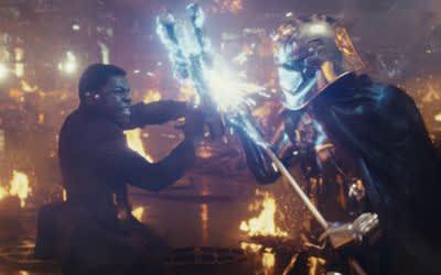 """Szene aus dem Film """"Star Wars: Die letzten Jedi"""""""