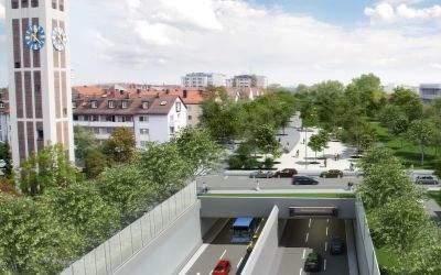 Visualisierung Heckenstallerstraße/ Heckenstallerpark