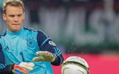 Manuel Neuer im Einsatz für die Nationalmannschaft