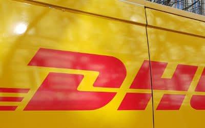 DHL-Lastwagen
