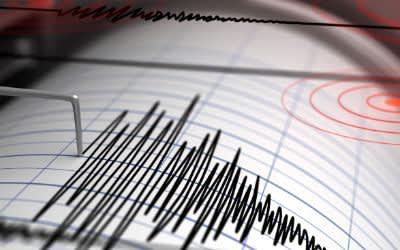 Seismograph zur Messung von Erdbeben