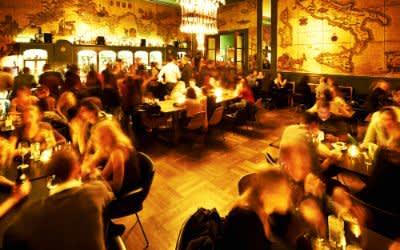 Die Goldene Bar im Haus der Kunst