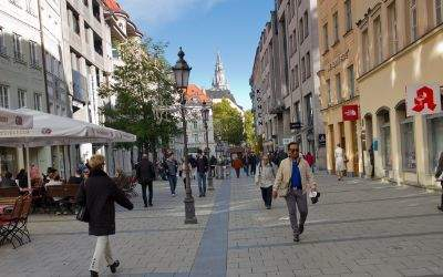 Sendlinger Straße in der Münchner Altstadt