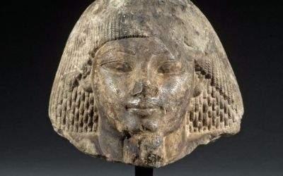 Porträtkopf aus dem 2. Jahrtausend vor Christus