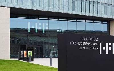 Hochschule für Fernsehen und Film München Aussenaufnahme