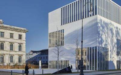Das NS-Dokumentationszentrum von außen