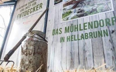 Info-Pavillon für den Hellabrunner Masterplan