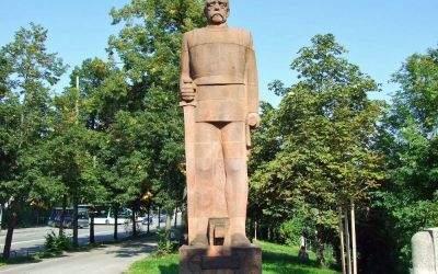 Denkmal von Bismarck an der Boschstraße