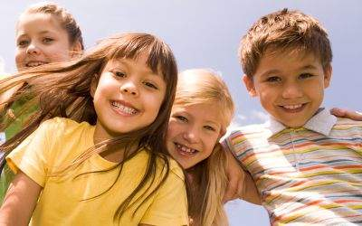 Kinder im Sommer
