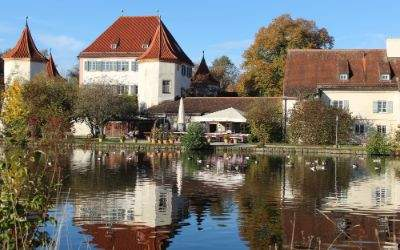 Blutenburg und Burgsee