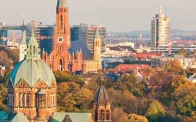 Panoramablick über München
