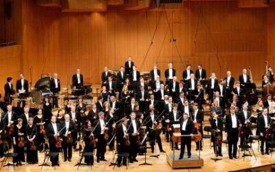 Das Symphonieorchester des Bayerischen Rundfunks.