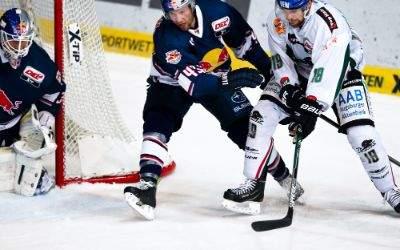 Spielszene EHC Red Bull München gegen Augsburger Panther