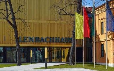 Lenbachhaus von außen
