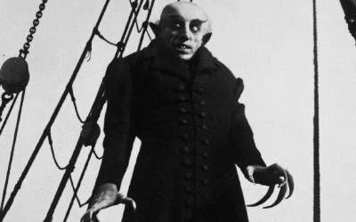 """Szene aus dem Film """"Nosferatu""""."""