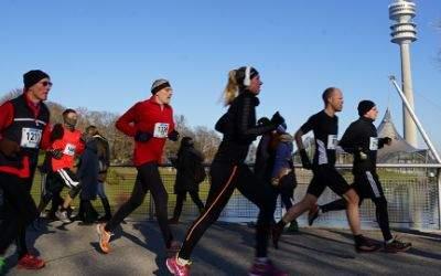 Leute beim Laufen