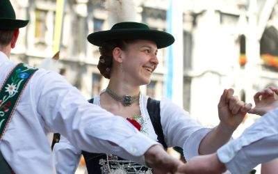 Impressionen vom Stadtgründungsfest in München.