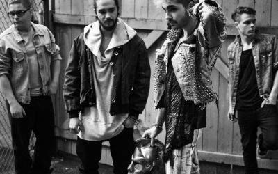 Tokio Hotel: Plakat zu ihrer Dream Machine Tour 2016