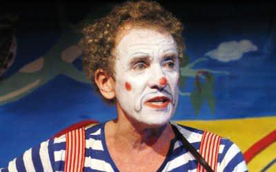Clown auf dem Tollwood.