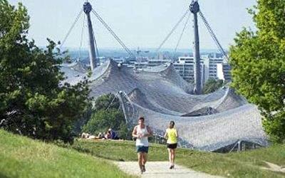 Der Bavarian Run im Olympiapark