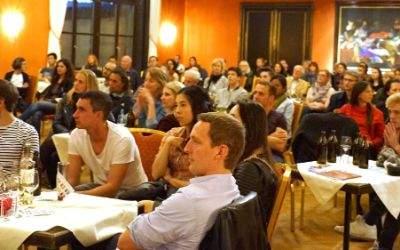 Publikum im Künstlerhaus
